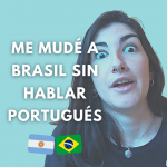 Instagram Post Como aprendi portugues